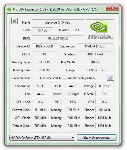 NVIDIA Inspector 1.9.7.6 (32/64-bit) Download | Descargar