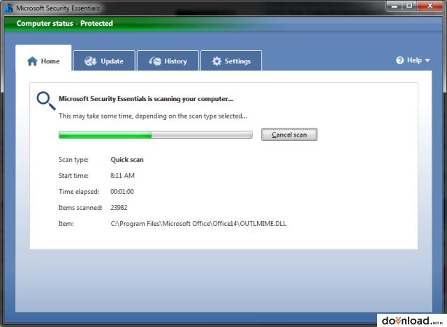 microsoft antivirus windows 7 64 bit