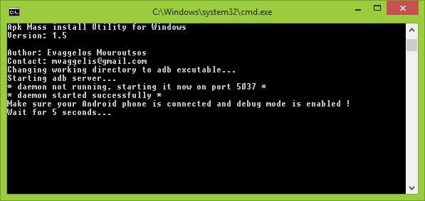 Mass APK Install Tool 1 5 Download | Descargar | Outras ferramentas